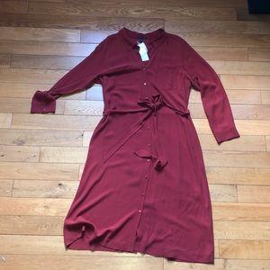 NWT 💯silk Eileen Fisher dress